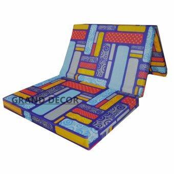 """GRAND DECOR Folding Mattress High Density Foam / Single FoldableMattress Height 9cm(4\"""")"""