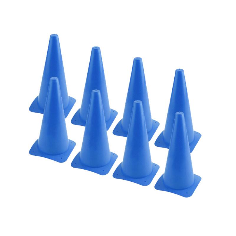 "H&S Skittle Cone / Sport Cone 12"" 1 set 8pcs (Blue)"