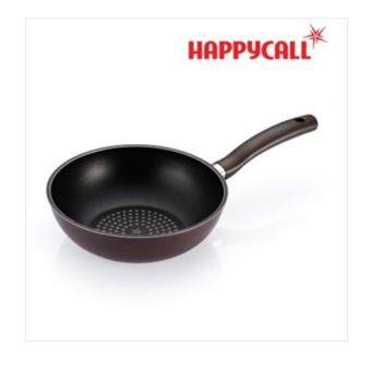 Harga [Happycall Korea] Diamond Coating Wok Pan 24cm / Made in Korea /Diamond