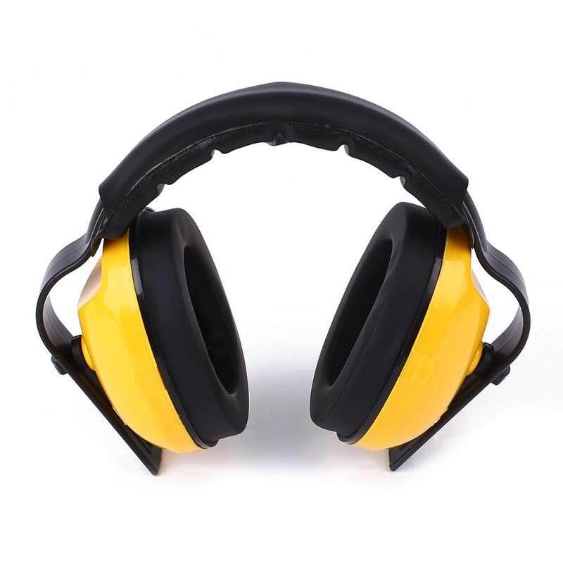 Hearing Protection Adjustable Earmuffs Noise Reduction Headband Sound Blocking