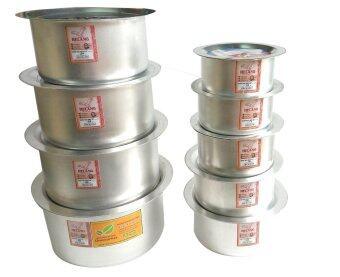 Helang Super Thick Degchi Pots 9 pcs