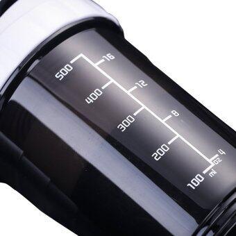 HeleMEI 500ml Smart Shake Gym Protein Shaker Sports Bottle - 3