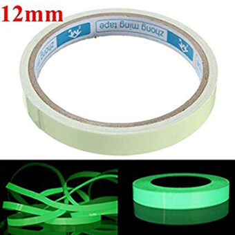 Harga HengSong Luminous Photoluminescent Tape Green Glow in the Dark Sticker Film for Warning Labels