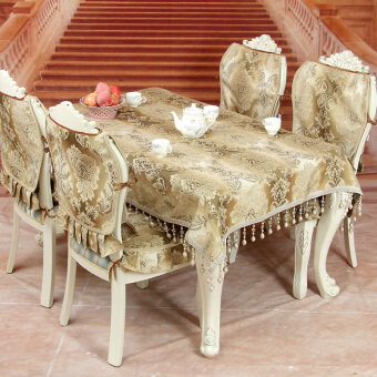 Highend European Tablecloth Table Cloth Chair Cover Cushion Tablerunner  Luxury Highgrade Fabric Coffee Table Cover Cloth