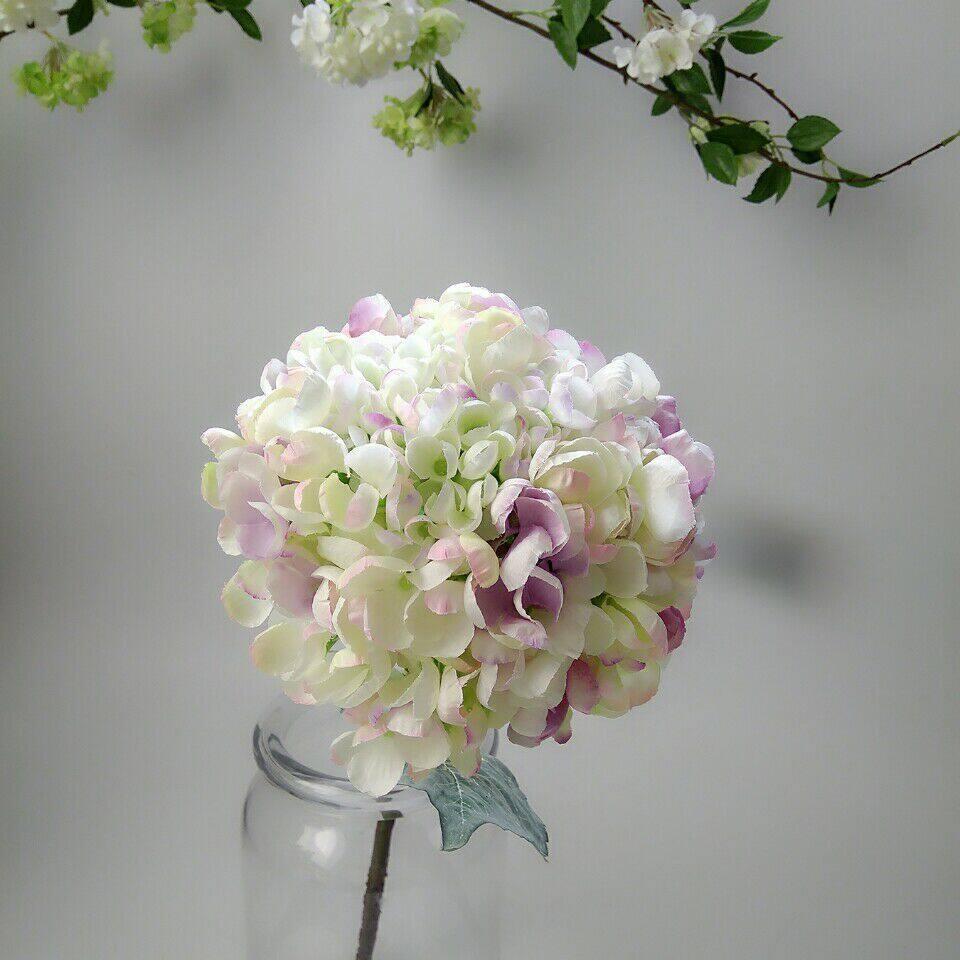 Carian Harga Termurah High Grade Silk Flower Big Hydrangea