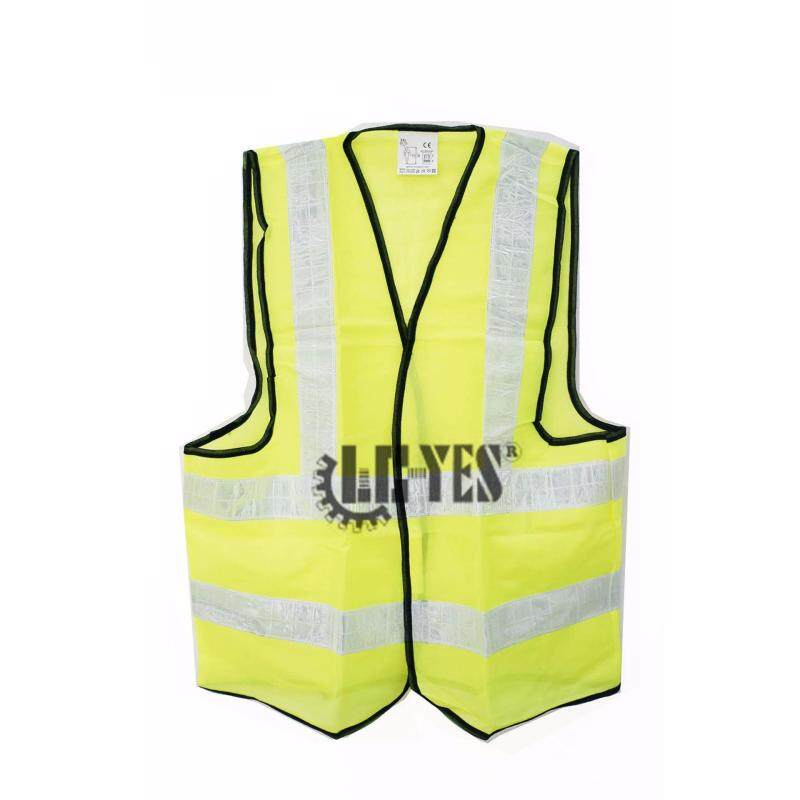Buy High Visibility Safety Waistcoat Warning Security Reflective Stripes Vest Fluorescent Neon Orange Green Malaysia
