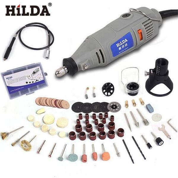 Hình ảnh Nicetech HILDA 220 v 150 wát 91 cái Điện Dụng Cụ Xoay Tốc Độ Biến Đổi Khoan Trục Linh Hoạt-quốc tế