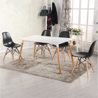 Harga Home & Living: Creative Eames Simple Medium SIzed Dining Table- White