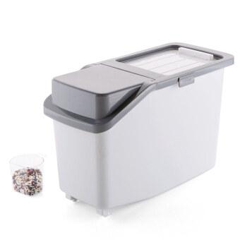 Home home plastic pest rice box Moisture Meter barrel 10kg homekitchen rice storage box mounted flour storage m box