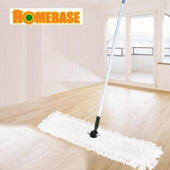 Harga [HOMEbase] Extra long plate big size mop/ wide mop/multipurposemop/dry & wet mop/magic big mop/energy saving mop/aluminiumstick mop/360 degrees mop