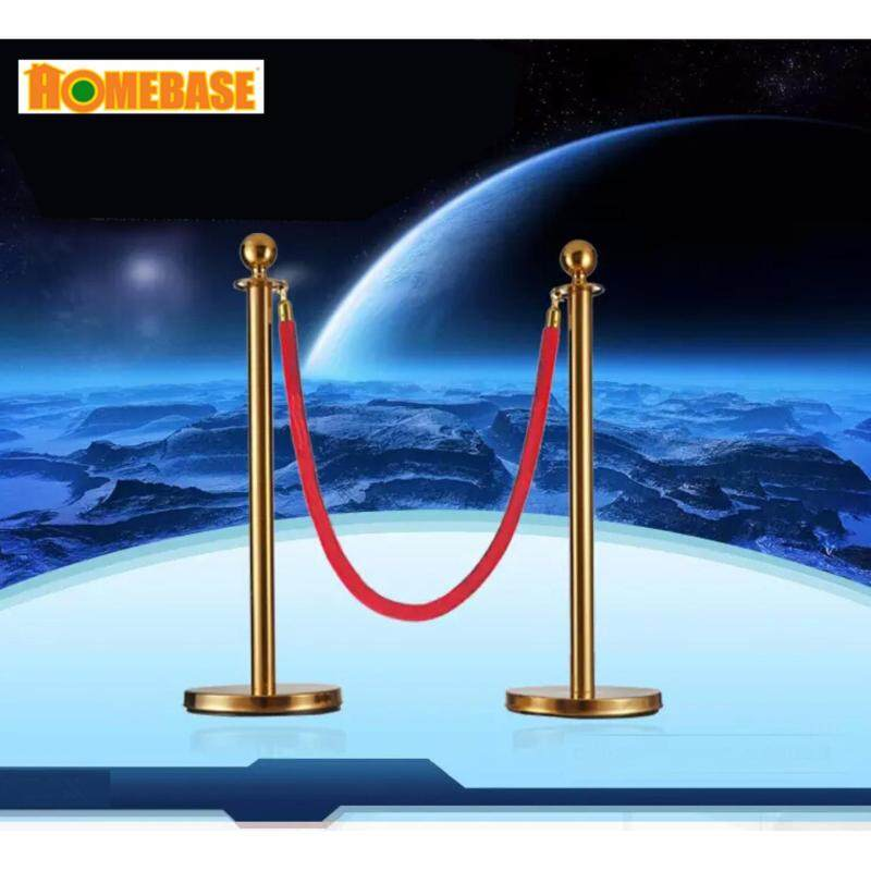Buy [HOMEbase]Stainless Steel Barrier Stand 1 sets( 2 pieces)2 meter/Not adjustable belt/ Belt Q-Up Stand/Post /Indoor & outdoor Barrier/Event Barrier/Bank Barrier / Protection Area Barrier / Road Bar Malaysia