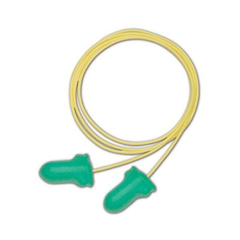 Buy Howard Leight LPF-30 Max Lite Disposable Foam Corded Earplugs, Polyurethane Foam, Small, Yellow/Green (Pack of 100) Malaysia