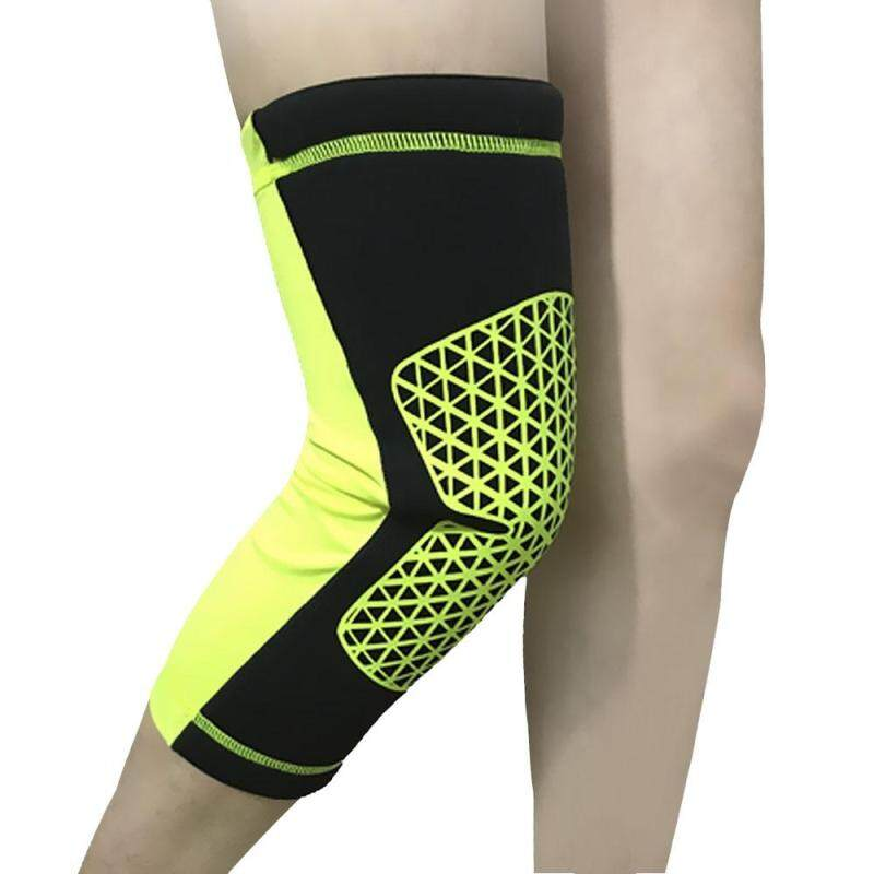 Buy HX037 Elastic Sports Basketball Volleyball Leg Knee Support Brace Dancing Wrap Protector Pad Sleeve Cap Malaysia