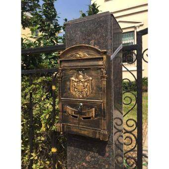 Harga iDeco Wrought Iron Mail Box Letter Box