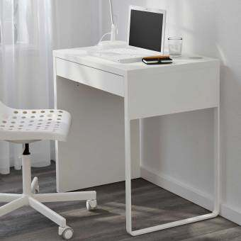 Ikea 80354281 Micke Computer Desk White Home Office Table