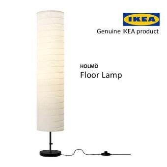 Harga IKEA HOLMO Decorative Warm Homey Floor Lamp/Rice Paper Lamp/Stand Lamp/ Floor Light 116x22 cm