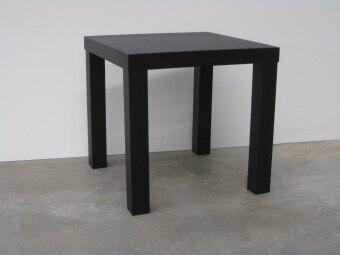 IKEA Inspired Side Table 45 X 45 Cm (Black)