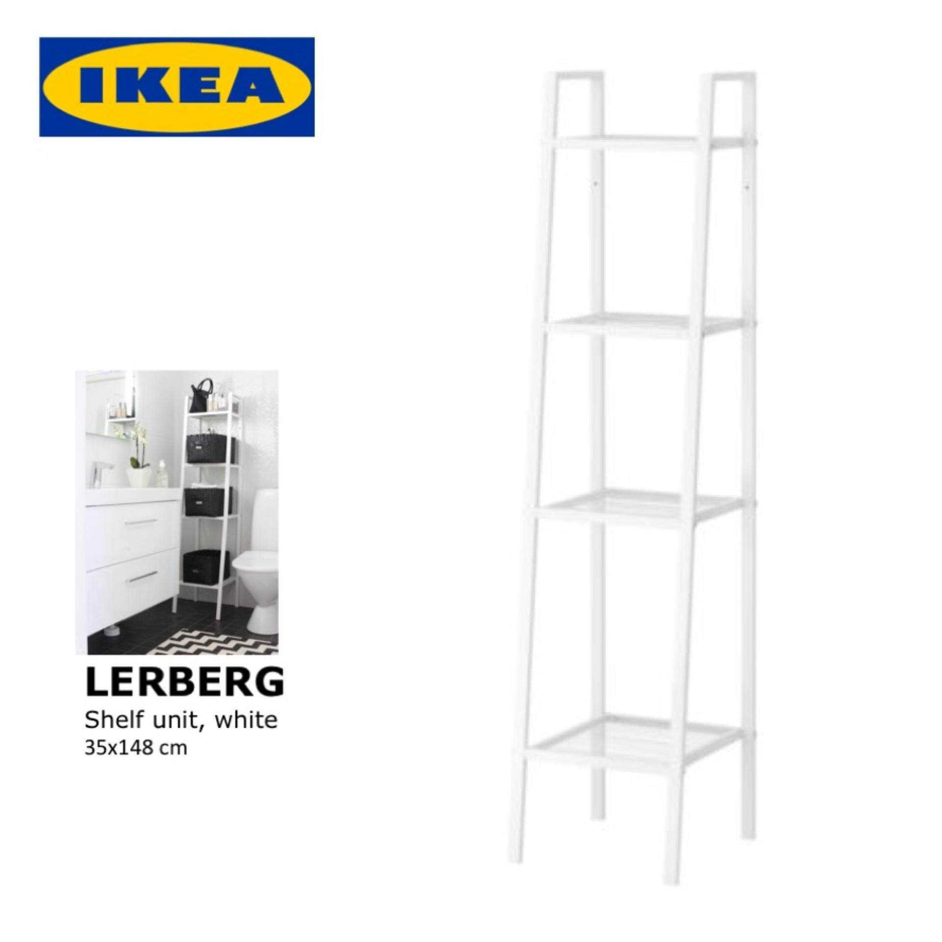 Ikea lerberg  IKEA LERBERG Open Shelf unit/ Book Shelf/Bathroom Shelf , 35x148 ...