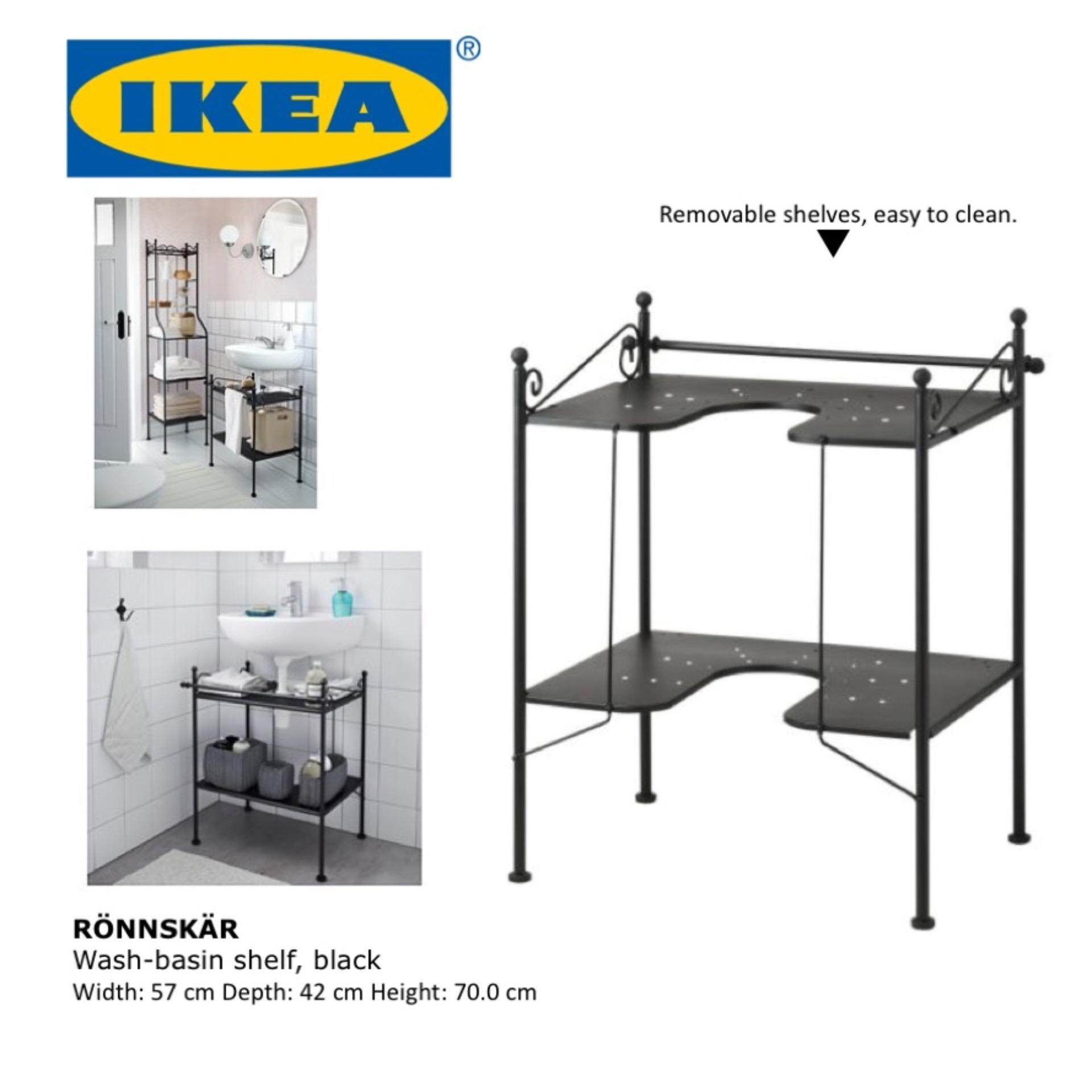 ... Ikea Under Sink Organizer Ikea Rönnskär Wash Basin Shelf Bathroom  Storage Shelve Under Sink ...