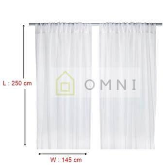 IKEA Teresia   Sheer Curtains (1 Pair)