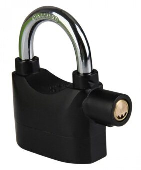 Harga Kinbar Siren Alarm Padlock for Door And Motor