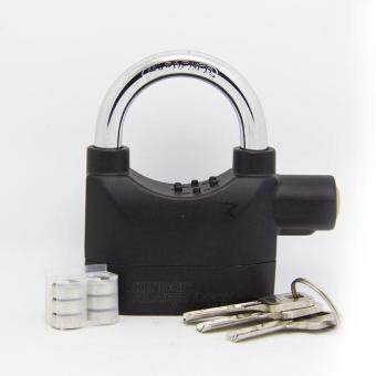 Harga Kinbar Alarm Padlock for Door/Motor/Bike/Car 110db Anti-Theft Security Lock Set with Batteries