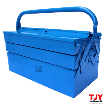 Harga Metal Cantilever 3 Tiers 5 Trays Home Mechanic Steel Tool Box Tool Storage CTB03