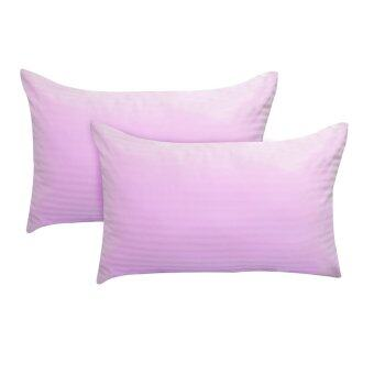 Harga Essina 100% Cotton Colour Palette 680TC Pillow Cases 2pcs_set - PINK
