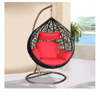 Harga LAVIN SWING CHAIR SW 71 BLACK (BIG)
