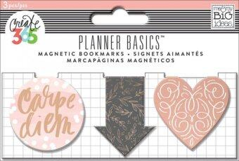 Harga Planner Basics - Rose Magnetic Clips
