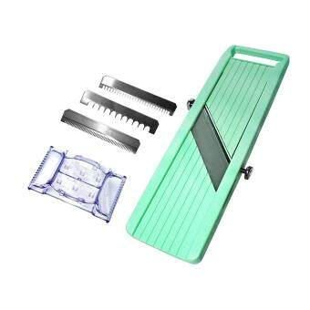 Harga BENRINER Japanese Mandoline Vegetable Slicer - Green - 100% Japan Original