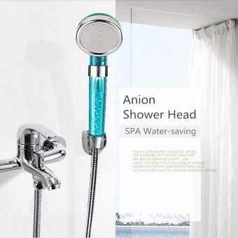 Harga S Size Anion SPA Water-saving Shower Head Filtration Handheld Nozzle Bathroom