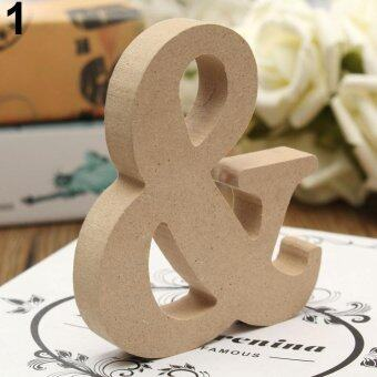 Harga Broadfashion Freestanding A-Z Wood Wooden Letters Alphabet Hanging Wedding Home Party Decor &