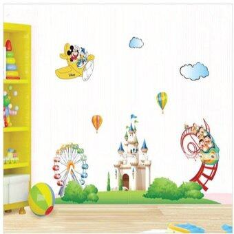 Harga Wall Sticker - Mickey at Castle