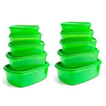 Harga ASOTV Always Stay Fresh Green Container 20 Pcs Set