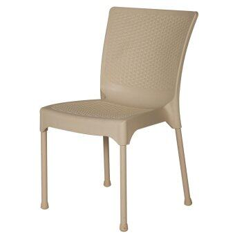 Harga Bamboo Inspired Design Chair (Ivory)