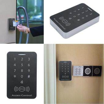 Harga leegoal Door RFID Card Access Control Keypad Door Entry Access Control Security Systems,Support 1000 Users,Black