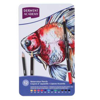 Harga Derwent Academy Watercolour Pencils 12's