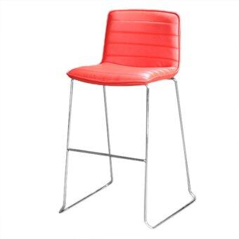 Harga Lavin Modern Bar Stool Red