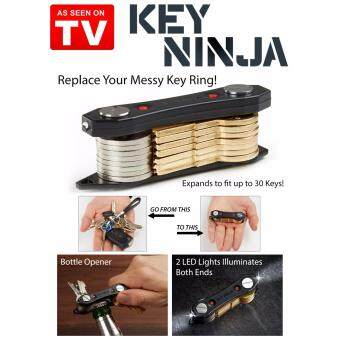Harga Key Ninja Aluminum Fashion Key Holder Wallet Clip Organizer Pocket