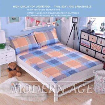 Harga Modern Age (BOX) 100% Cotton Waterproof Bamboo Fiber Mattress Protector-King Size