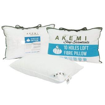 Harga HOT DEAL: Akemi Sleep Essential 10 Holes Loft Fibre Pillow