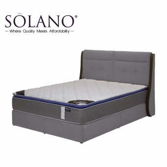 Harga Solano Direct Factory Singapore Best Seller King Sturdy Bed Frame with Export Quality
