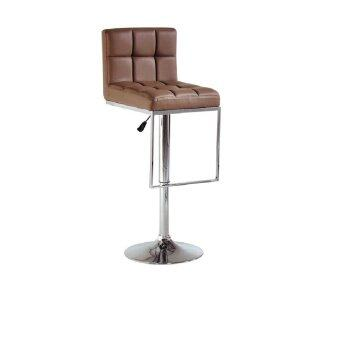 Harga LAVIN BS 8024 PU BAR STOOL BROWN
