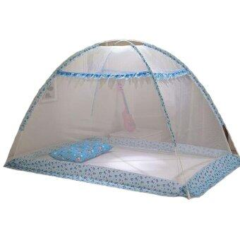 Harga Lovely Baby Mosquito Net Sleeping Tent - Blue
