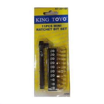 Harga KTMRBS-2011B-11p King Toyo Mini Ratchet Bit Set