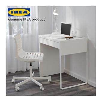Harga IKEA MICKE Small Office Desk/Makeup Table/Study desk/Computer Desk/Work Desk, white, 73x50 cm