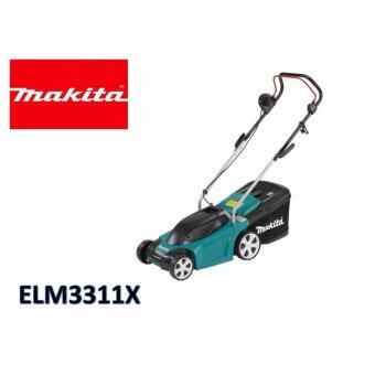 Harga ELM3311X-33cm Makita Lawn Mower 20-55mm/levels 27L 1100W 240V