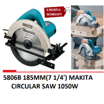 Harga 5806B 185MM(7 1/4') MAKITA CIRCULAR SAW 1050W