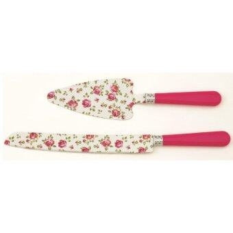 Harga Giacomo 2pc decorated cake server set (PR)